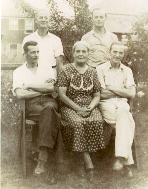 The Allsup family in 1937, 21k