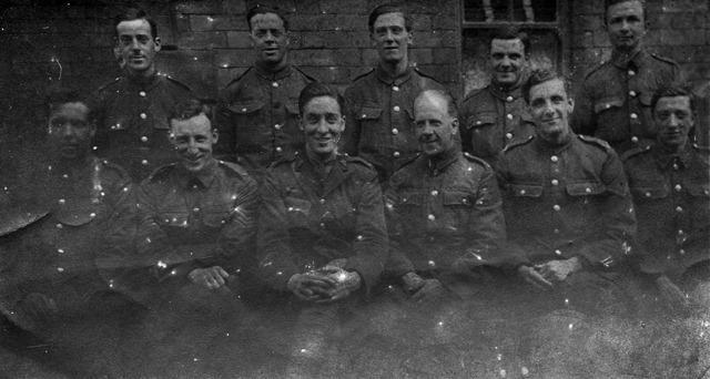 3rd Bn., East Lancashire Regt. group, Skinningrove, August 1918